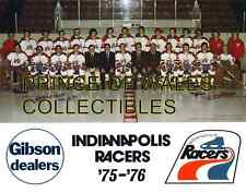 1976 INDIANAPOLIS RACERS TEAM PHOTO 8X10