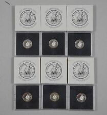 1997 Sterling Silver Proof 10 Cent Cabot Coin in Quadrum