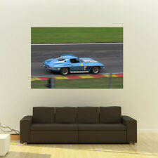 Poster of Chevy Corvette C2 HD Huge Print 54x36 Inches