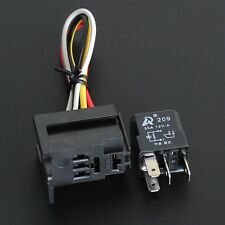 5 set - Car Auto 30A 12V 4PIN Relay Kit For Electric Fan Fuel Pump Light Horn