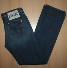 REPLAY WV 545 Damen Jeans Hose W29 L32 Blau