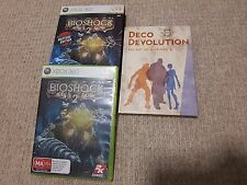Bioshock 2: Rapture Edition Complete w/ Deco Devolution Art Book Xbox 360