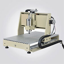 CNC Router Machine Kit USB 1.5KW Engraving Milling Machine 4 Axis 6040 Engraver