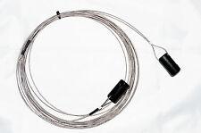Bidatong LW-20 endgespeiste Langdrahtantenne - V2A Edelstahl - 0,5 - 50 MHz