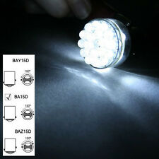 2pcs 6V 1156 BA15D 335 24 SMD LED White Car Bulb Light Brake/Turn/Tail /Reverse