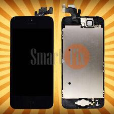Display für iPhone 5S mit RETINA LCD Glas VORMONTIERT Komplett Front SCHWARZ TOP
