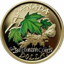 Canada 2010 Four Seasons Summer $75 Gold Proof Color Maple Leaf GML Seasonal