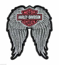 HARLEY DAVIDSON Studded Winged B&S 11 INCH HARLEY PATCH