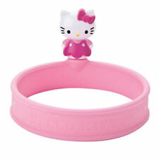 Hello Kitty Silicone Egg Ring w/ Handle - Round Pancake Sandwich Maker Joie Eggy