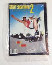 Transworld Skateboard Magazine NOS 1987 PHOTO ANNUAL - CABALLERO PULL OUT POSTER
