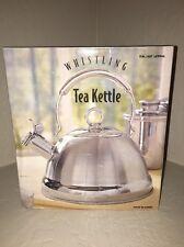 2.7 Quart Stainless Steel Whistling Tea Kettle New In Box!