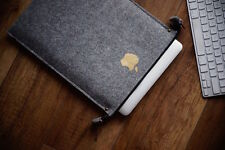 "New Apple MacBook 12"" Retina Sleeve Case - ZIP -  with gold apple !!!"