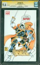 Avengers 1 CGC SS 9.6 Blank Sketch Cover Taskmaster by Anthony Castrillo