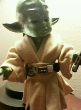OOAK Mezco Living Dead Dolls Yoda Custom .rare. star wars.
