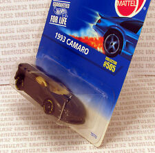 GOODYEAR VARIATION 1993 CHEVY CAMARO RACE CAR BLACK RACING 1996 #505 HOT WHEELS