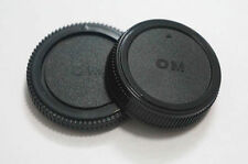 Body And Rear Lens Caps For Olympus OM Mount UK Seller