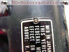 Honda CB 250 350 450 500 Nieten Set für Typenschild  90841-001-000