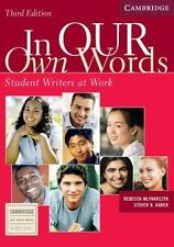 In Our Own Words Student Writer At Work Rebecca Mlynarczyk, Steven Haber Books-A