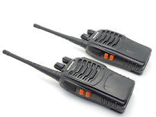 2pcs Baofeng BF-888S UHF 400-470MHz 5W Two-way Radio Interphone Walkie Talkie