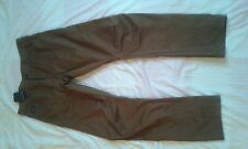 "MENS BNWT CRAFTED BROWN TWISTED LEG CHINO TROUSERS SIZE 36"" WAIST 34"" LEG"