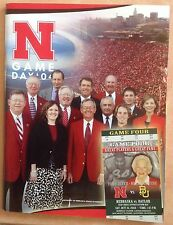 Nebraska Huskers vs. Baylor Bears 2004 Game Program