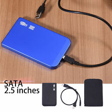 Ultrathin 2.5inch SATA Hard Drive Enclosure External HD HDD Case For Laptop PC