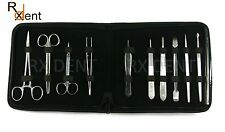 20 PCS Professional Medical Student Dissecting Surgical Lab kit Anatomy KIT-DLK1