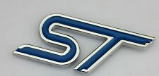 ST Blue Metal Sticker 3D Maruti Suzuki Swift Alto K10 SX4 Ertiga Wagon R Celerio