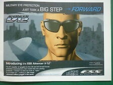 8/2006 PUB ESS EYE SAFETY SYSTEMS ADVANCER V-12 MILITARY GOGGLES ARMED FORCES AD