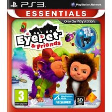 PLAYSTATION Move EYEPET & Friends gioco (ESSENTIALS) PS3 NUOVO di zecca