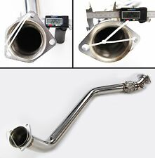 STAINLESS STEEL EXHAUST DECAT DE CAT DOWNPIPE FOR BMW E46 3 SERIES 320d M47 98+