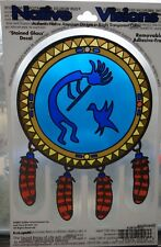 Kokopelli Native American Stained Glass Visions Window Sticker Decal Wiccan