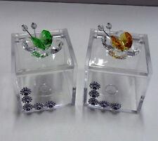 Bomboniere Scatolina farfalle cristallo matrimonio battesimo comunione nascita