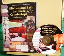 KITCHEN & BATH LAMINATE COUNTERTOPS 101 instructional Douglas Smith DVD repair