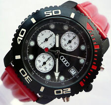 RARE Audi RS4 RS6 RS S Sport Line Performance Made in Germany Chronograph Watch