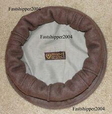 Afghanistan Afghan Pakol Hat 100% Wool Warn Winter Hat Dark Brown Army BERET CAP