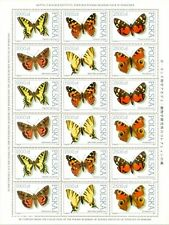 POLEN 1991 Klb Butterflies collection of the Zoological Institute PAN(1991; Nr k