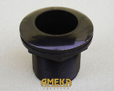 "2x) 1-1/2"" 1.5"" Bulkhead Fitting S X S with Silicon Washer, Very High Quality"