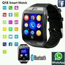 NEW Touch Screen Bluetooth Smart Wrist Watch Q18 For Android mobies & IOS iPhone
