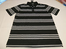 Adidas HTHR3STR Men's short sleeve polo shirt XXL black grey AF0129 113023892