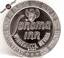 $1 PROOF-LIKE SLOT TOKEN SONOMA INN CASINO 1966 FM FRANKLIN MINT WINNEMUCCA NV
