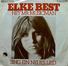 """7"""" 1975 KULT RARE IN MINT-! ELKE BEST Hey Mr. Musicman"""
