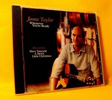 MAXI PROMO Single CD James Taylor Whenever You're Ready 2TR 2002 Acoustic Rock
