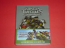 Teenage Mutant Ninja Turtles Out of the Shadows 2D/3D Blu Ray Steelbook Ed Korea