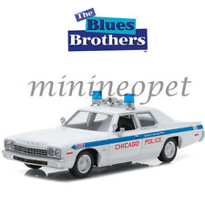 GREENLIGHT 84012 THE BLUES BROTHERS 1975 DODGE MONACO 1/24 CHICAGO POLICE CAR