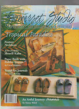 SOMERSET STUDIO JULY/AUGUST 2000 TROPICAL PARADISE ISSUE PAPER ARTS ART STAMPING