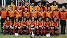 DUNDEE UNITED FOOTBALL TEAM PHOTO 1980-81 SEASON