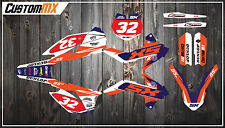 KTM SX85 Full Graphics Kit with custom numbers etc - CONTOUR SERIES SX 85