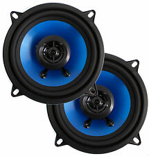 "(2) New Q-POWER QP525 5.25"" Inch 500 Watt 2-Way Coaxial Car Audio Speakers Pair"