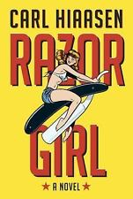 RAZOR GIRL by Carl Hiaasen (2016)**SIGNED**1st/1st**FREE USPS tracking